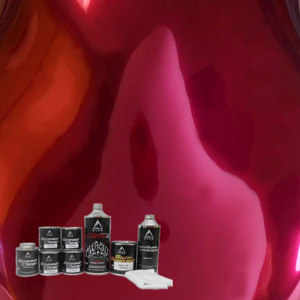 MirraChrome 1-qt. Blood Red Chrome Paint Kit