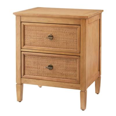 Marsden 2 Drawer Patina Finish Nightstand (24 in W. X 28 in H.)