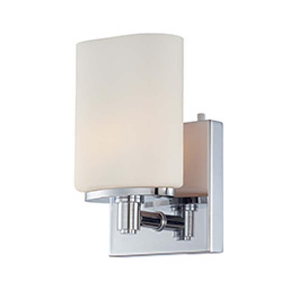 Filament Design Spectra 1-Light Chrome Halogen Wall Vanity