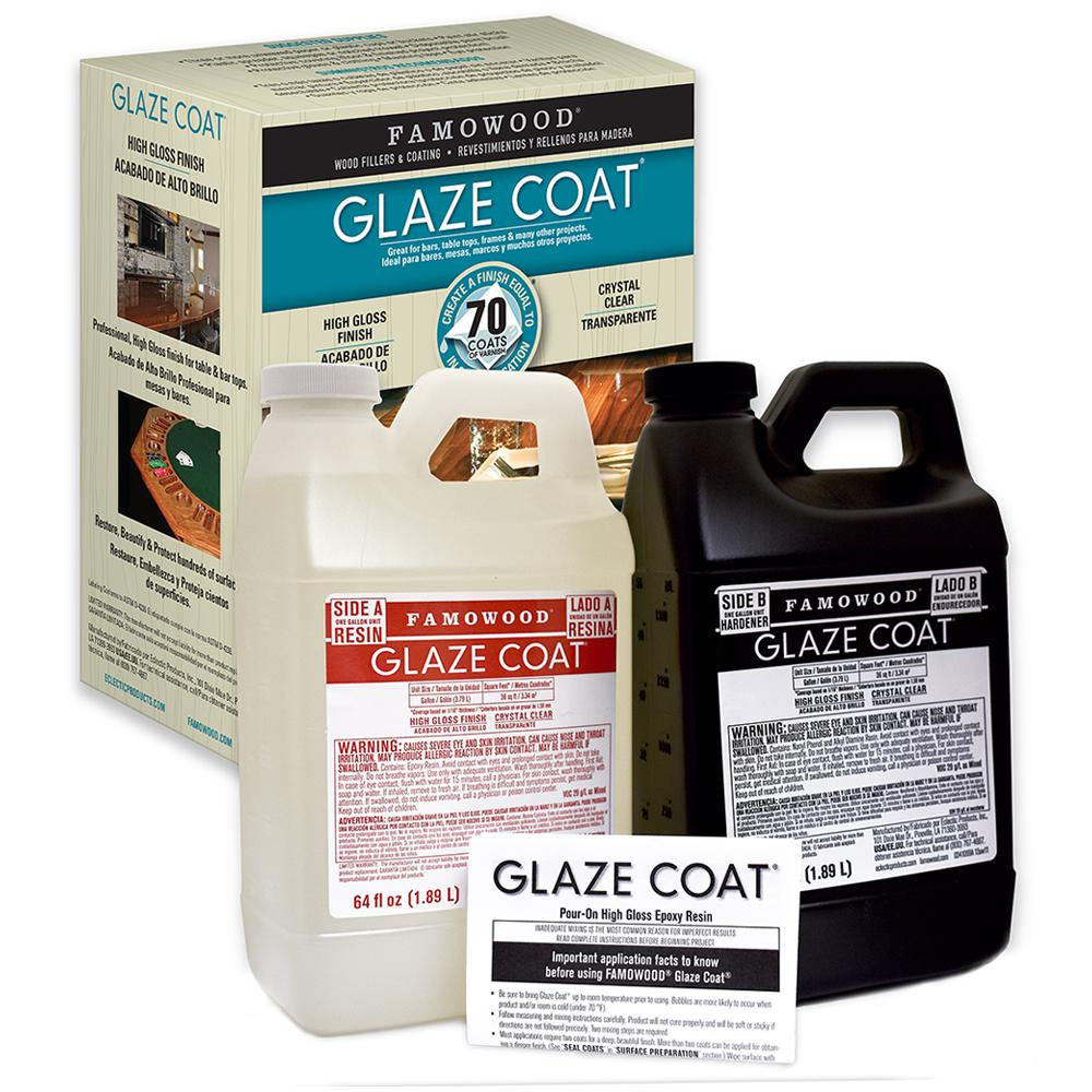 Famowood 1 Gal Glaze Coat Clear Epoxy