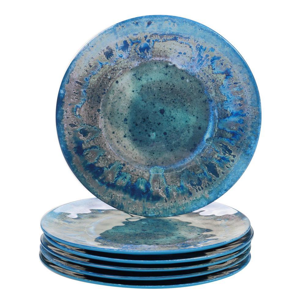 Certified International Radiance Multicolor Dinner Plate (Set of 6) 23930SET6