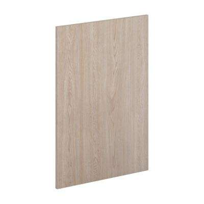 23.25 in. x 34.5 in. x 0.125 in. Kitchen Cabinet Flush-Fit End Panel in Unfinished Oak
