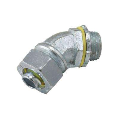 Liquidtight 3/8 in. Uninsulated Connector (25-Pack)