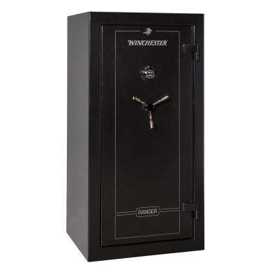 Ranger 26 cu. ft. 28-Gun 60 Minute Fire Resistant U.L. Mechanical Lock Gun Safe Black