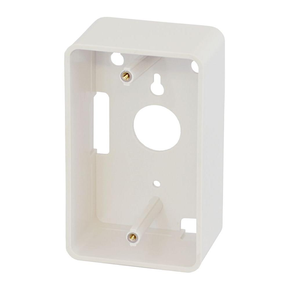 Structured Wiring Box Surface Mount Not Lossing Diagram Enclosure Commercial Electric 1 Gang 5302 The Home Depot Rh Homedepot Com Electrical
