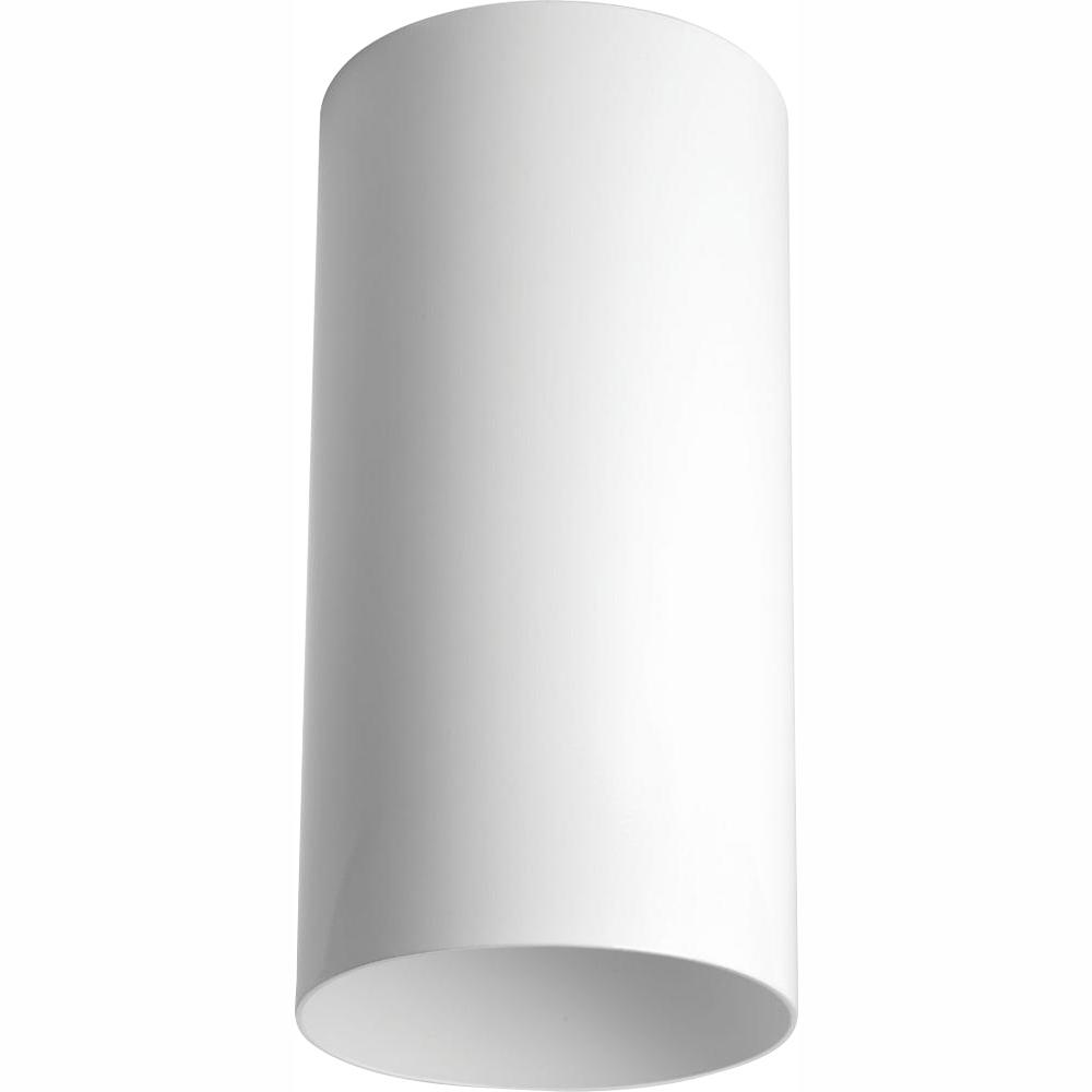 Progress Lighting White Integrated LED Outdoor Flush Mount