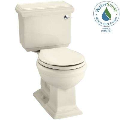 Memoirs Classic 2-piece 1.28 GPF Single Flush Round Toilet in Almond
