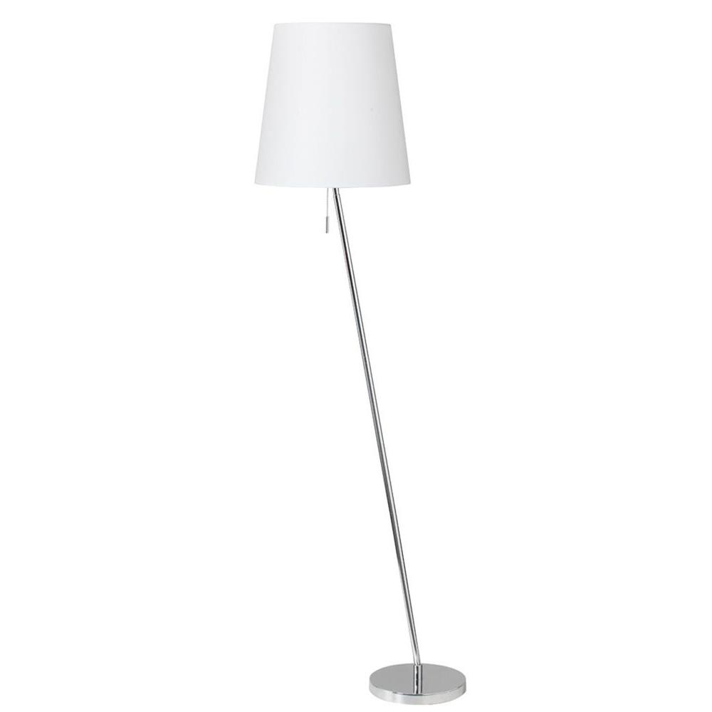 Filament Design Catherine 60 in. Polished Chrome Floor Lamp