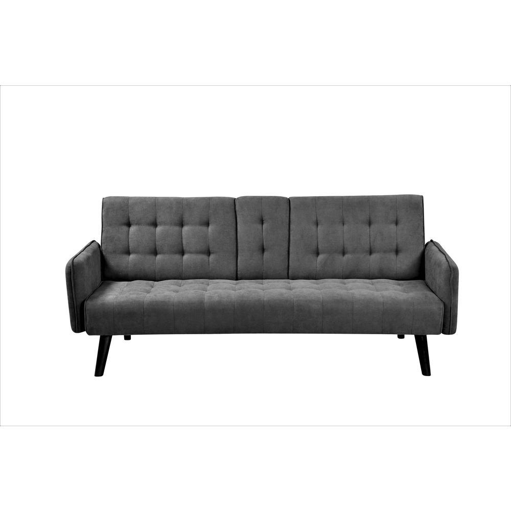 Payne Convertible Dark Grey Sofa Bed Sleeper