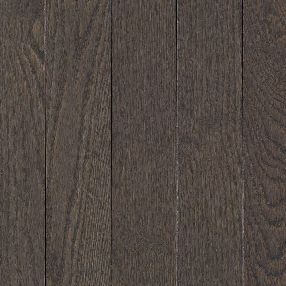 Mohawk Raymore Oak Charcoal 3/4 in. Thick x 3.25 in. W x Random Length Solid Hardwood Flooring (17.6 sq. ft./case)-DISCONTINUED