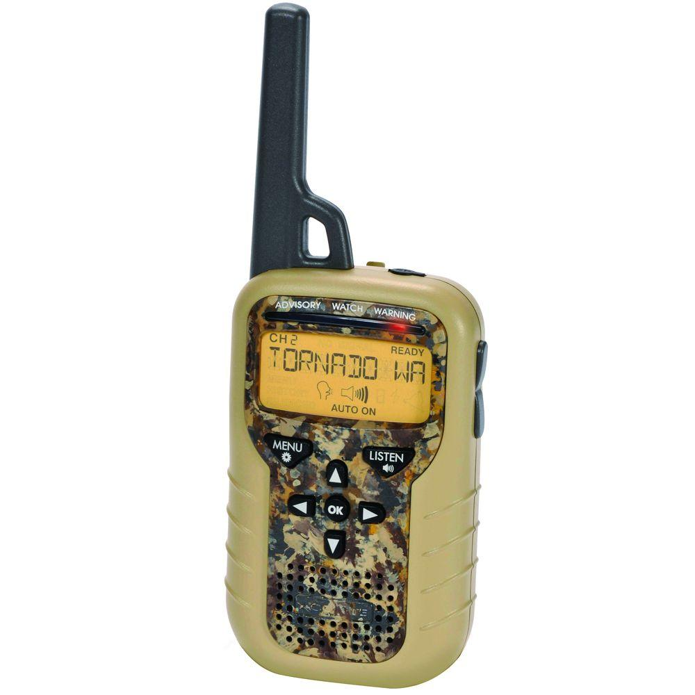 AcuRite Portable Emergency Weather Alert NOAA Radio with S.A.M.E. Technology in Camo