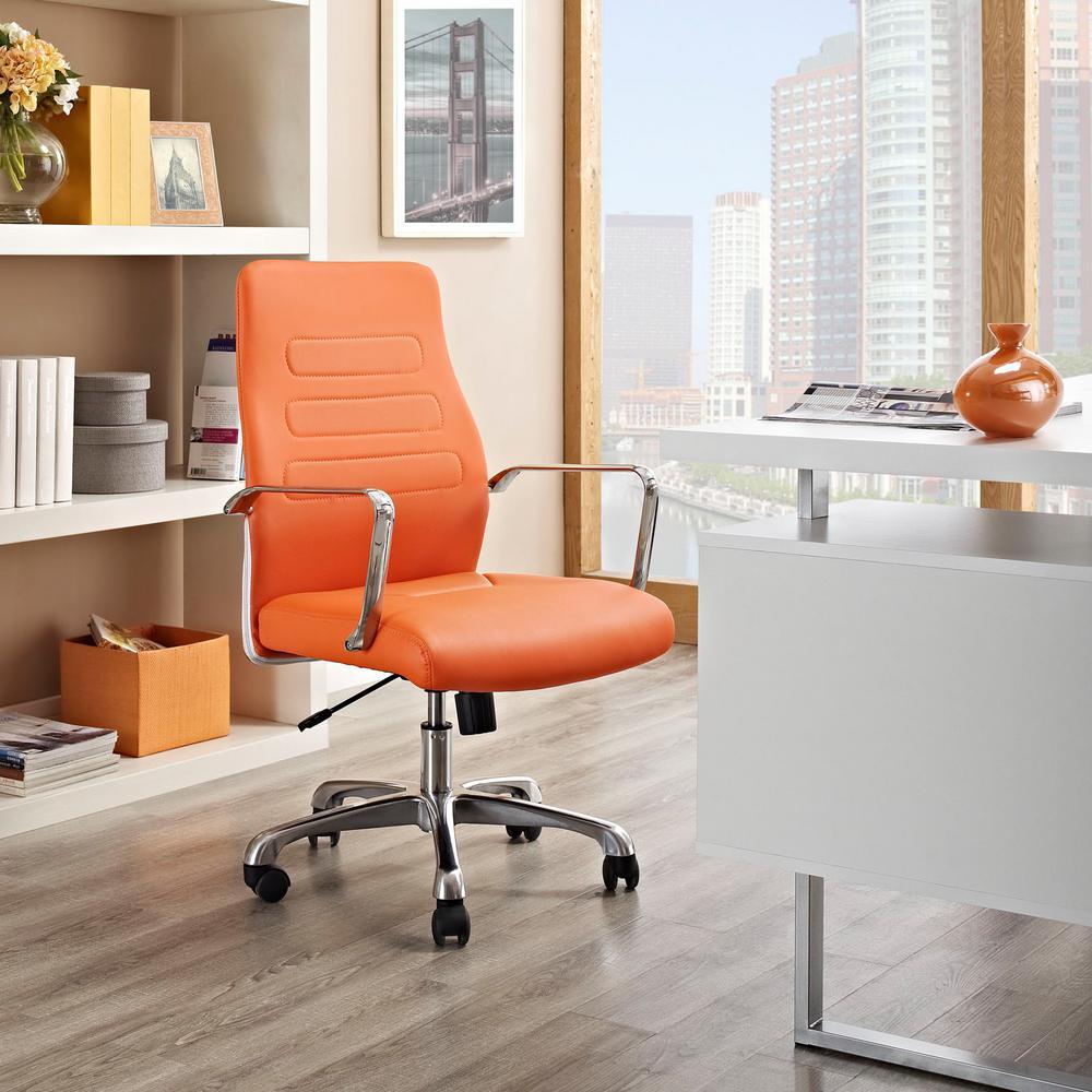 Orange Home Office Furniture Furniture The Home Depot