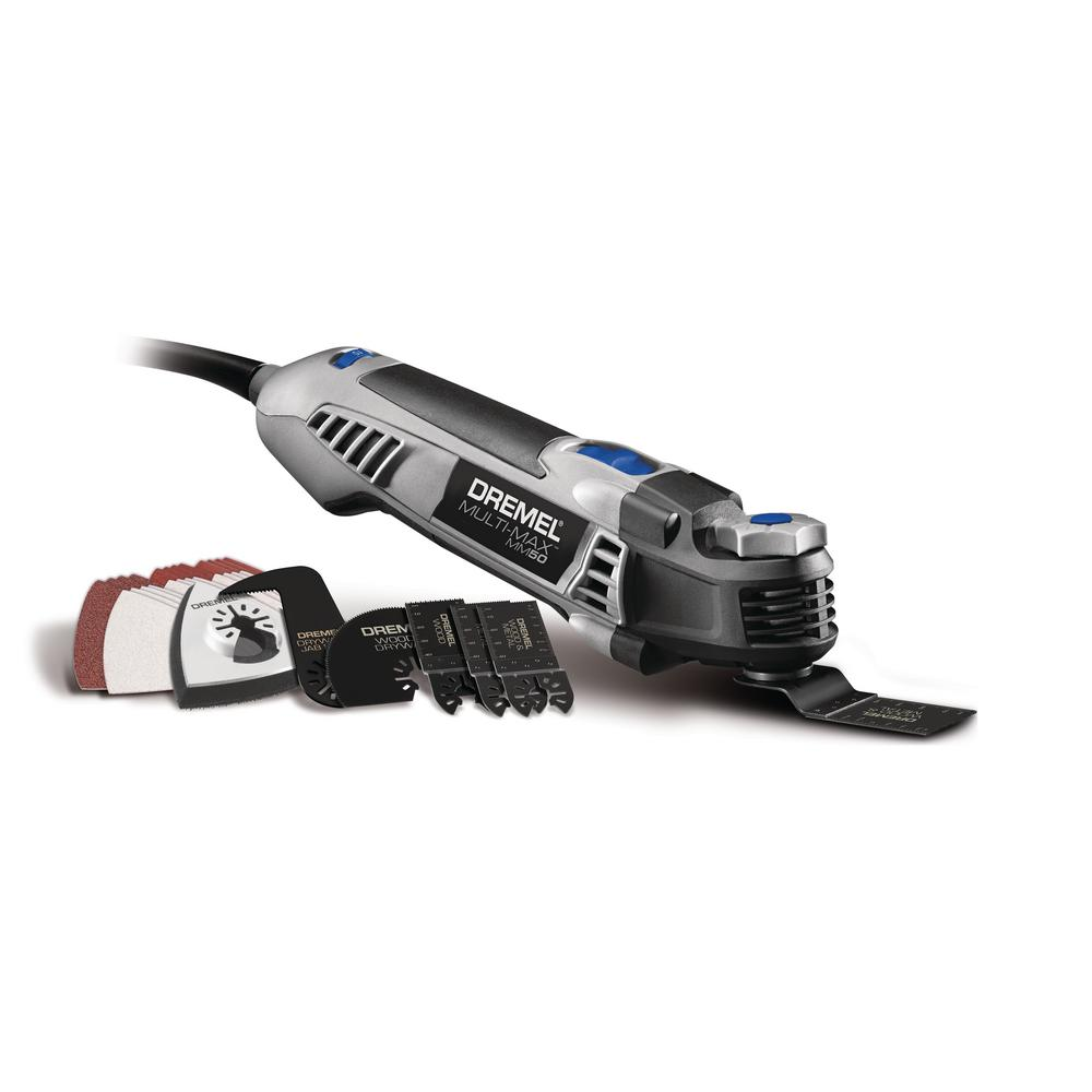 Multi-Max 5 Amp Variable Speed Corded Oscillating Multi-Tool Kit with 30