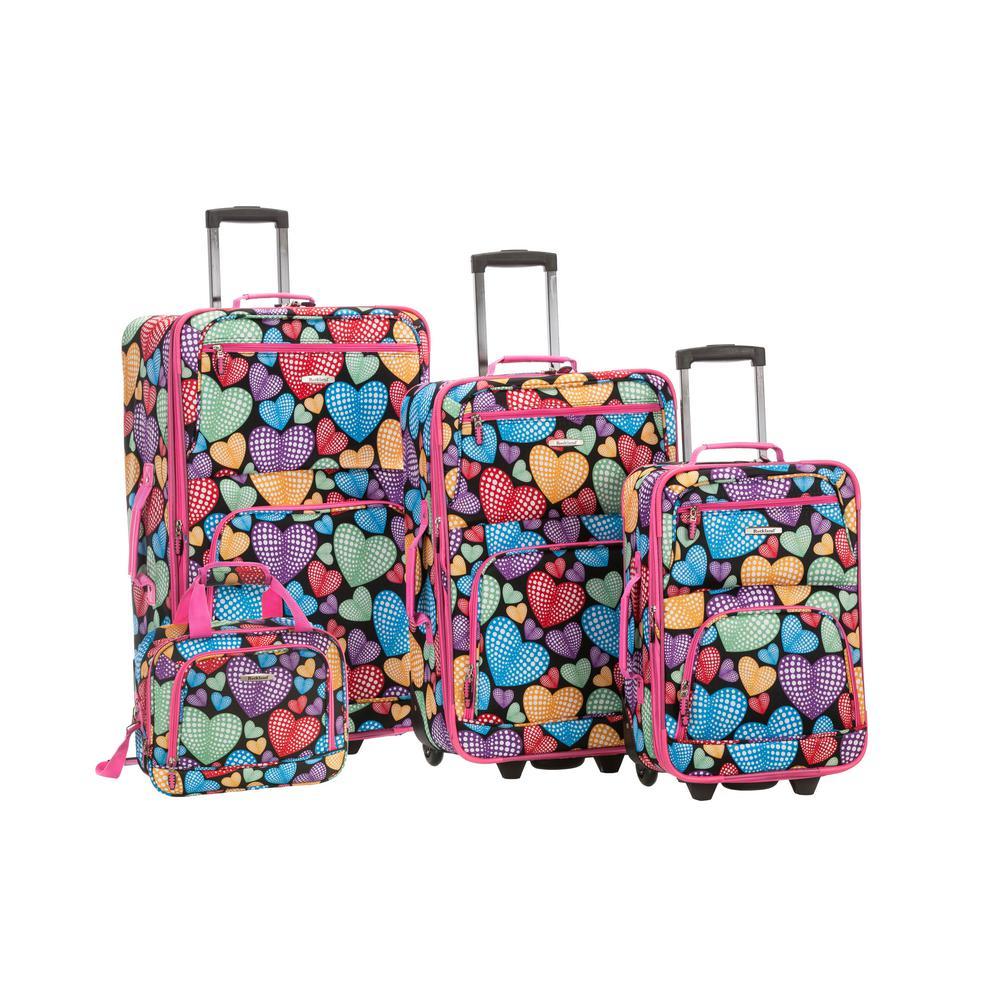 4-Piece Luggage Set, Newheart