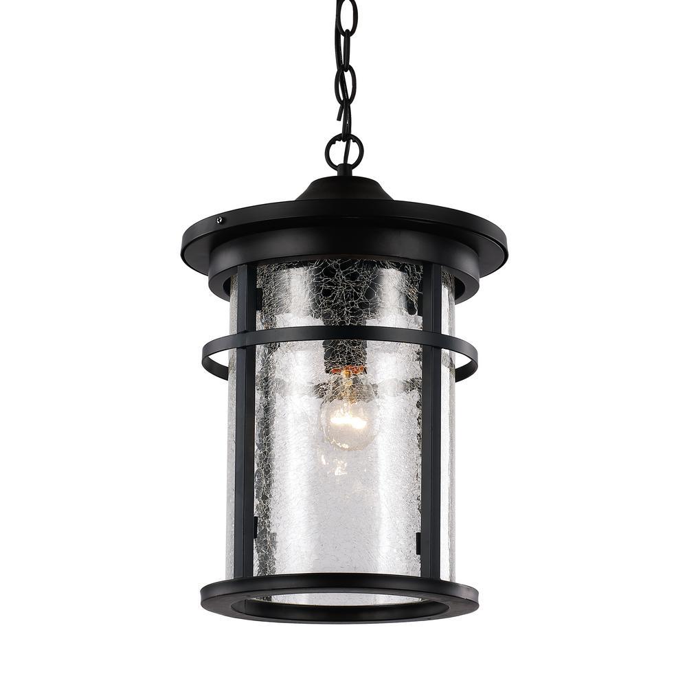 Avalon Rust 1-Light Outdoor Hanging Lantern
