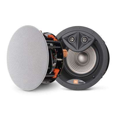 Architectural Edition Powered by JBL 6.5 in. Ceiling Speaker with Dual Stereo Tweeters