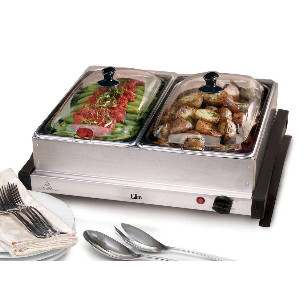 Elite Systems Warming Tray, Stainless