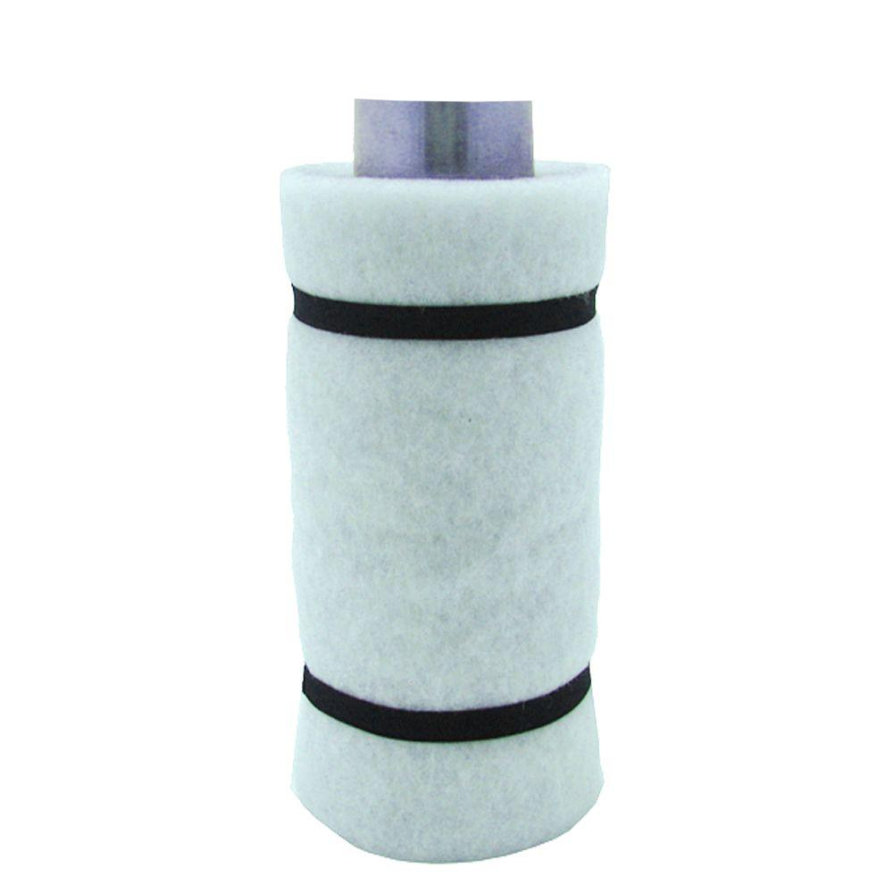 Viagrow 4 in. Carbon Air Filter 2 with Flange 55-110 CFM ...