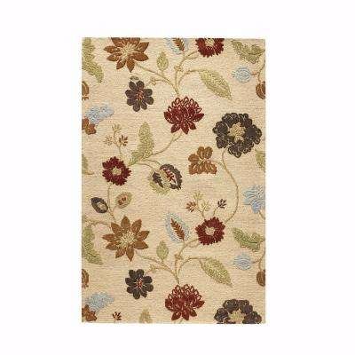 Portico Soft Gold 10 ft. x 14 ft. Area Rug