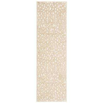 Studio Almond 2 ft. x 7 ft. Runner Rug