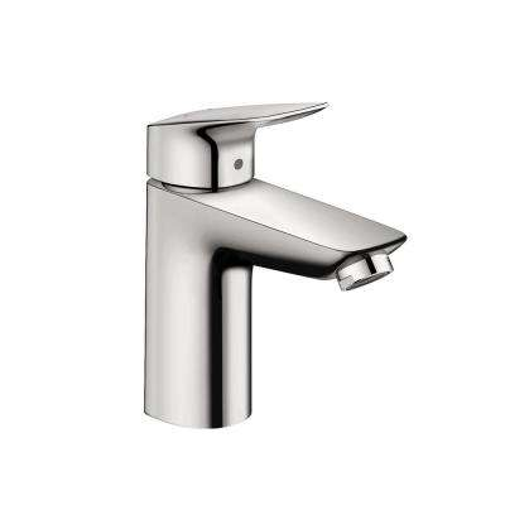 Logis 100 Single Hole Single-Handle Bathroom Faucet with Drain in Chrome