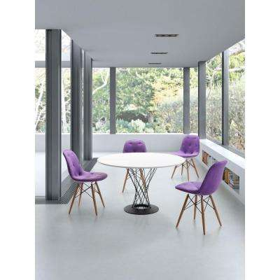 Spiral White Dining Table