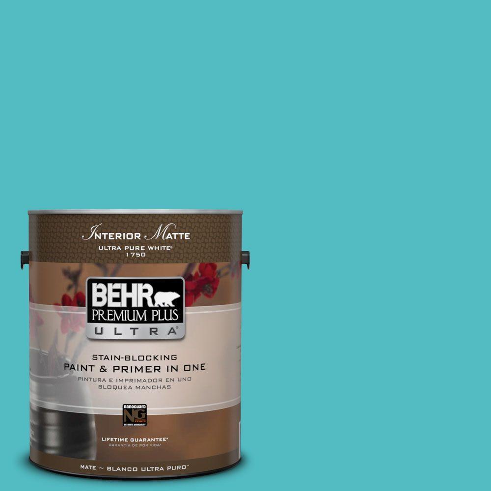 BEHR Premium Plus Ultra Home Decorators Collection 1 gal. #HDC-WR14-6 North Wind Flat/Matte Interior Paint