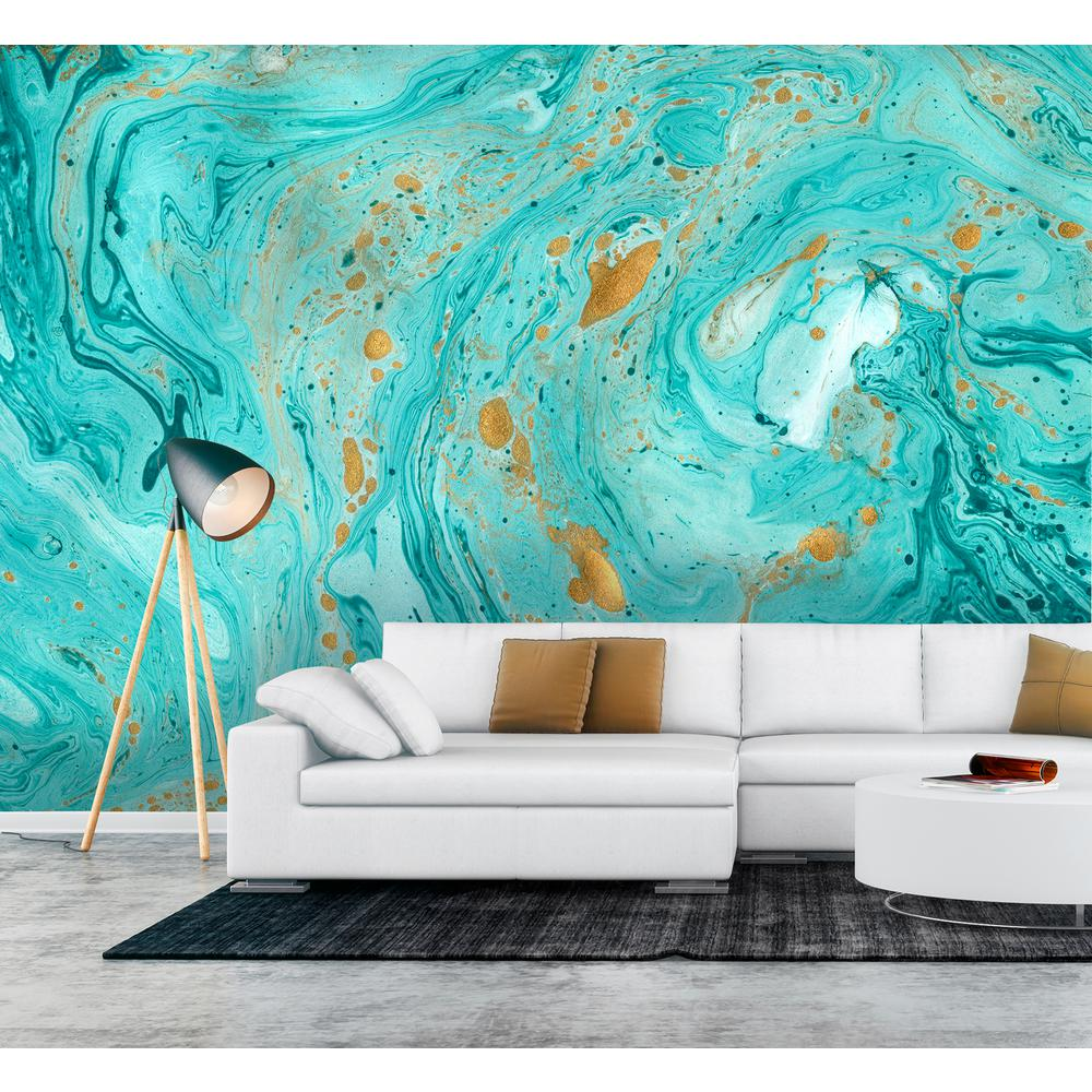 Wallpaper Decal: Wall Rogues Marble Texture Wall Mural-FDM50572
