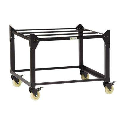 Medium Trolley Stand with Wheels, Raises Medium Container to Waist Height 39.4 in. (1 m)