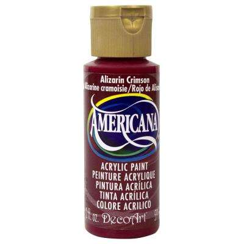 Americana 2 oz. Alizarin Crimson Acrylic Paint
