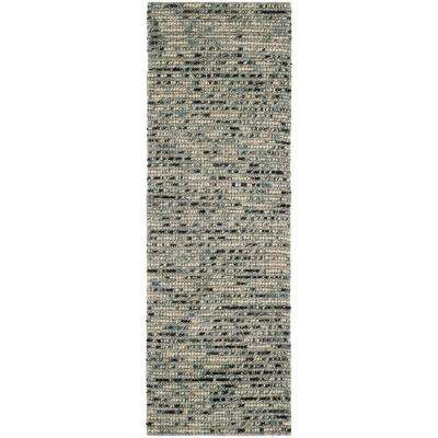 Bohemian Grey/Multi 3 ft. x 10 ft. Runner Rug