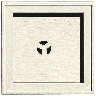 7.75 in. x 7.75 in. #034 Parchment Recessed Square Universal Mounting Block