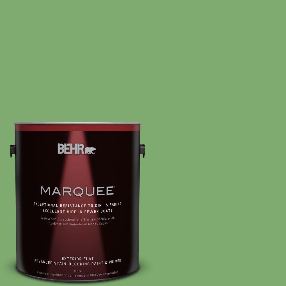 BEHR MARQUEE 1-gal. #M390-5 Sage Garden Flat Exterior Paint