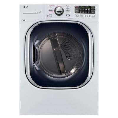 7.4 cu. ft. Gas Dryer with TurboSteam in White