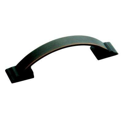 Candler 3 in. Center Oil-Rubbed Bronze Cabinet Pull