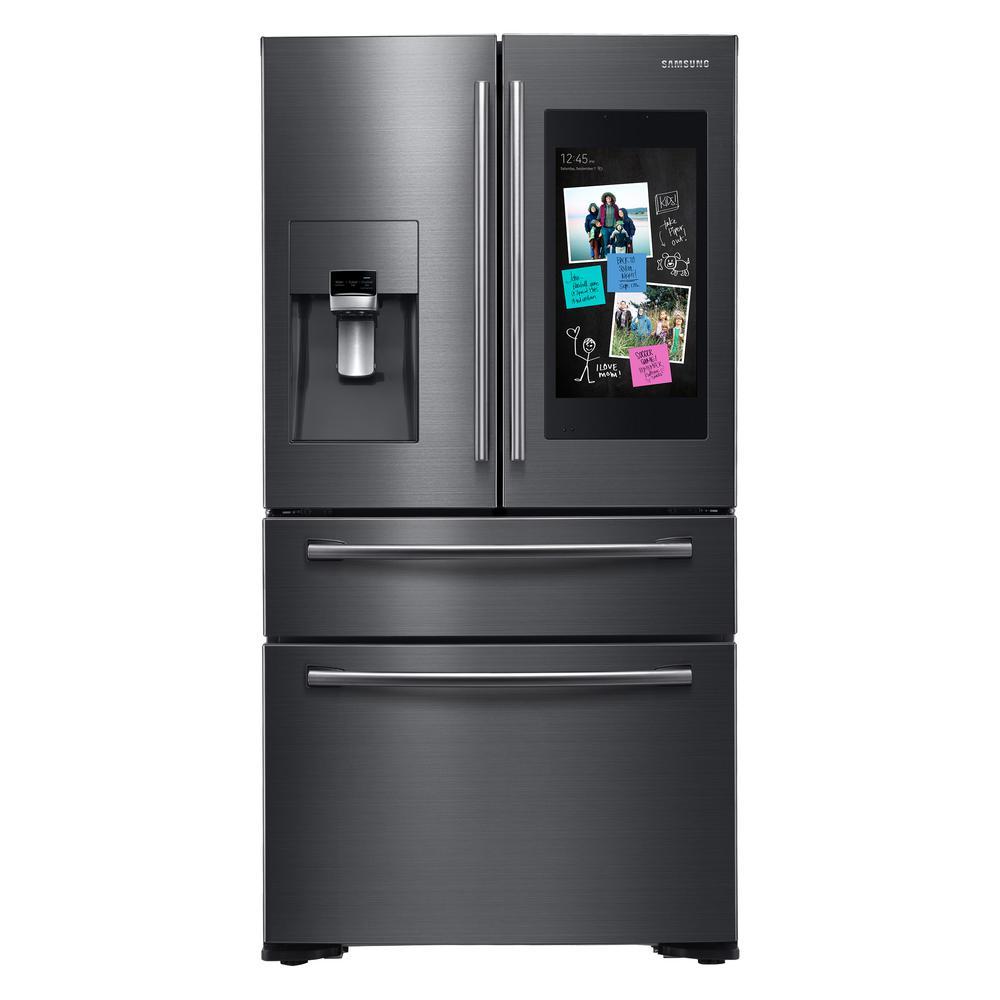 Black Stainless Steel French Door Refrigerators