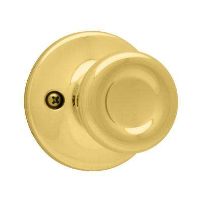 Tylo Polished Brass Dummy Door Knob