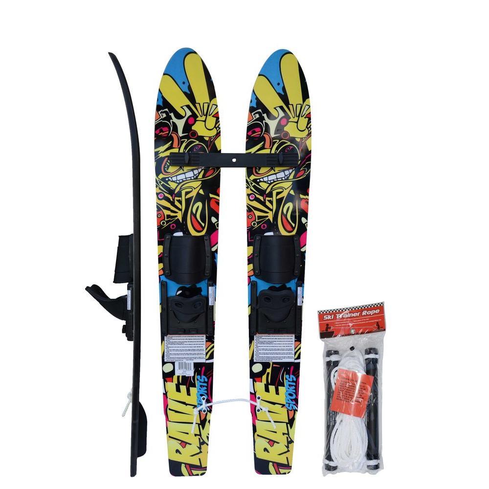 Kid's Rim 5 in. Trainer Water Skis