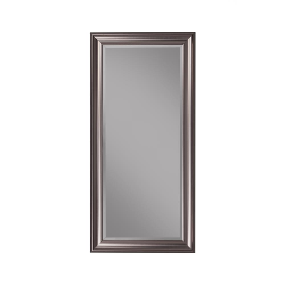 silver floor mirror. Silver Full Length Leaner Floor Mirror 3
