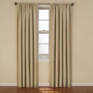 Eclipse Kendall Blackout Cafe Curtain Panel 84 In Length