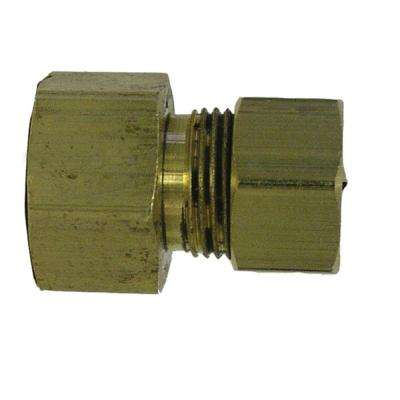 3/8 in. x 1/4 in. Lead-Free Brass Compression Adapter