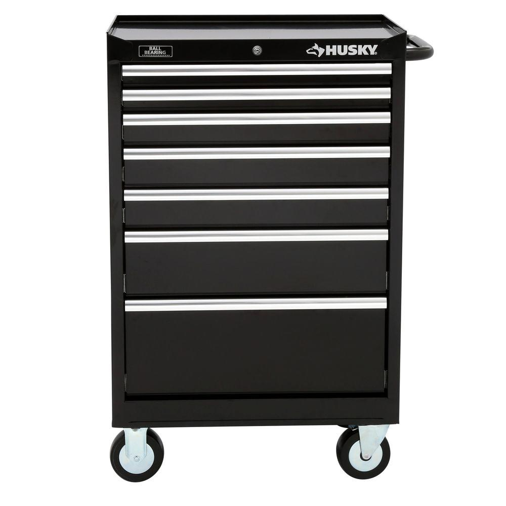Husky 27 in. W 7-Drawer Tool Cabinet