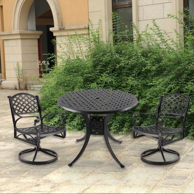 Ares 3-Piece Aluminum Outdoor Dining Set