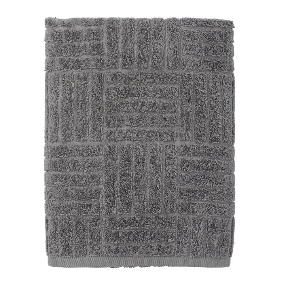 The Company Store Interlock Egyptian Cotton Single Bath Sheet in Seal