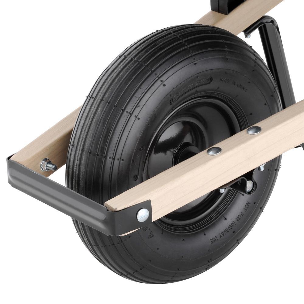 6 cu. ft. Steel Wheelbarrow