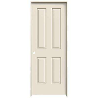 30 in. x 80 in. Coventry Primed Right-Hand Smooth Molded Composite MDF Single Prehung Interior Door