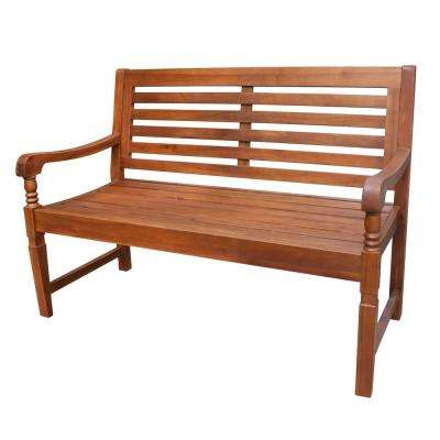 Nantucket 49 in. Wood Outdoor Bench