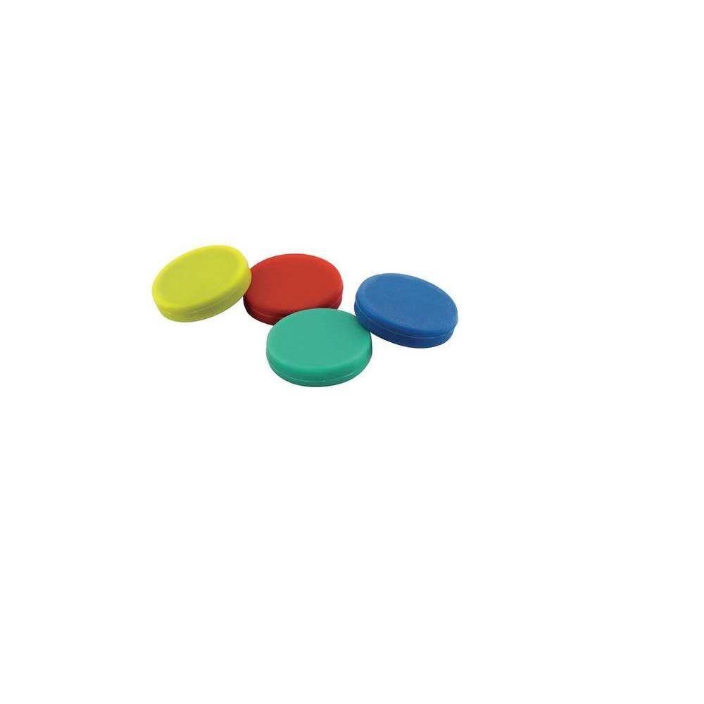 Assorted Color Disc Magnet (4-Pack)