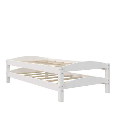 Opus White Stackable Twin Beds (2-Pack)