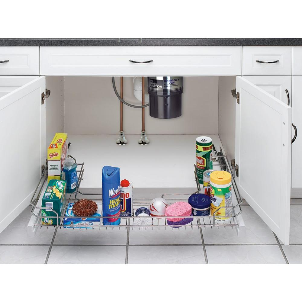 Rev-A-Shelf Under Sink Pull-Out Organizer-DISCONTINUED